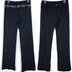 Lululemon Throwback Groove Reversible Yoga Pants